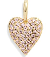 women's melinda maria icons double sided heart charm