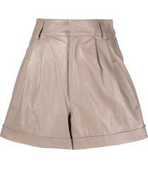 manokhi jett shorts - neutrals