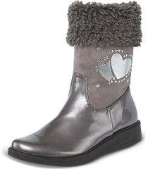 botas vanessy gris croydon