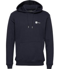 dylan hooded sweatshirt hoodie trui blauw makia