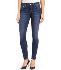 mavi jeans alexa supersoft skinny jeans, size 30 x 30 in dark super soft at nordstrom