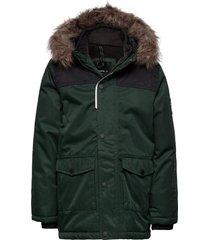 nkmsnow10 jacket 3fo parka-jas groen name it