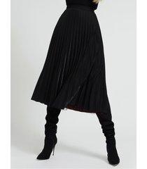 dwustrona plisowana spódnica