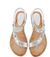 verano nueva bohemia redonda cabeza sandalias mujeres