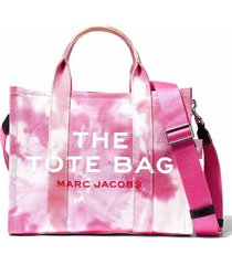 marc jacobs the tote handbag in tie dye fabric
