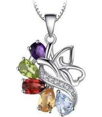 collar mujer hermosa casual multicolor arany joyas