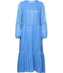 luciaiw dress jurk knielengte blauw inwear