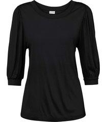 maglia con maniche a palloncino (nero) - bodyflirt