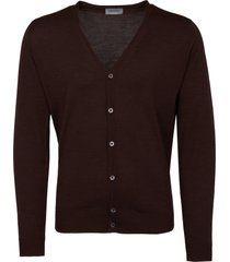 john smedley chestnut petworth cardigan petworth-chs