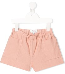 bonpoint relaxed-fit shorts - pink