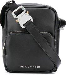 1017 alyx 9sm buckle-strap messenger bag - black