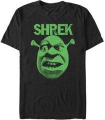 fifth sun shrek men's big face short sleeve t-shirt