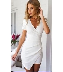 women celeb style haute couture premium cocktail party women leather dress-gn14