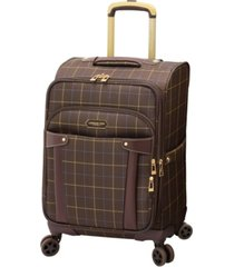 """london fog brentwood 20"""" softside carry-on luggage, created for macy's"""