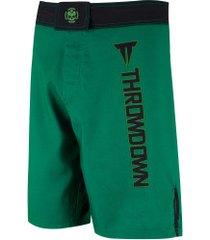 bermuda throwdown rays - masculina - verde/preto