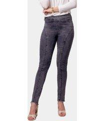 calça jeans morango moreno jegging preta - kanui