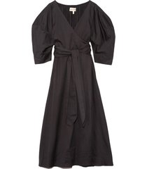 agnella dress in black