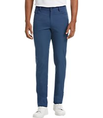 awearness kenneth cole blue slim fit casual pants