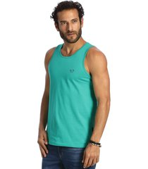 camiseta vlcs regata gola redonda verde