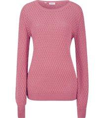 maglione in maglia operata (viola) - bpc bonprix collection