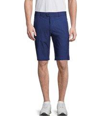greyson men's camo jag abstract-print shorts - indigo - size 38