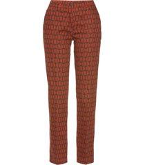 pantaloni elasticizzati trendy (marrone) - bpc selection