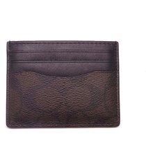 new men's coach (f58110) signature id card case holder wallet
