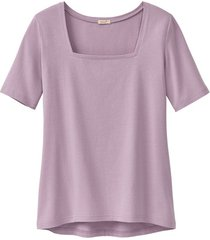 carré-shirt van bio-katoen, hortensia 38