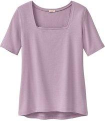 carré-shirt van bio-katoen, hortensia 40