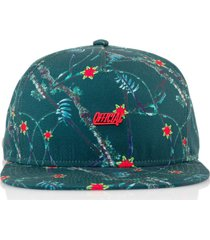gorra verde official deep real tropical