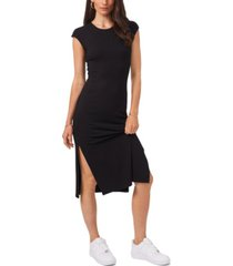 1.state maxi side slit dress