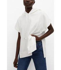 mango women's oversize cotton sweatshirt