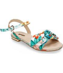 sandalias multicolor bata winata r mujer