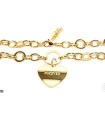 gargantilla forever jewels corazón dorado