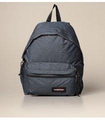 eastpak backpack padded zipplr eastpak backpack in denim effect nylon