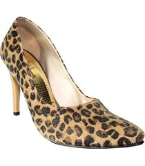 tacones stilettos animal print wanted splendid