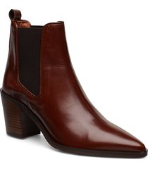 booties 3720 shoes boots ankle boots ankle boots with heel brun billi bi