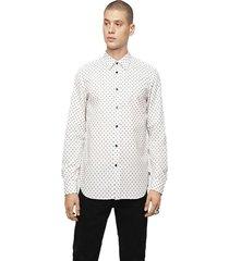 camisa s jirou shirt blanco diesel