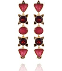 nanette nanette lepore beautifully berry drop earring
