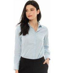 blusa para mujer azul-1181