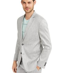 alfani men's classic-fit stretch solid sport coat, created for macy's