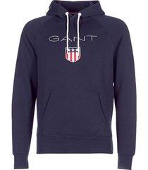 sweater gant gant shield sweat hoodie