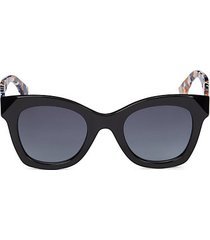 48mm squared cat eye sunglasses