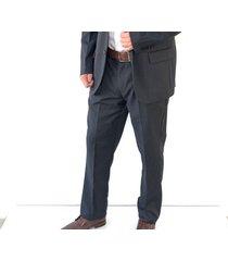 traje gris oscar de la renta b8sut20-dk/gry