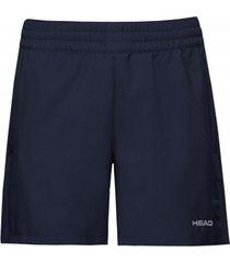 head tennisbroek women shorts club dark blue-m