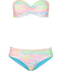 bikini a balconcino con ferretto (set 2 pezzi) (verde) - bpc bonprix collection