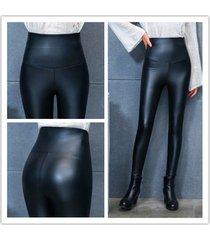 plus high quality thicken high waist soft legging draping winter pants