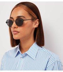 le specs women's vamp sunglasses - matte black