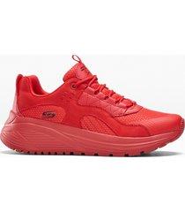 sneaker skechers con memory foam (rosso) - skechers