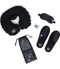 kit de viaje herschel ripstop black herschel